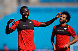 CHARLOTTE, USA - Saturday, July 21, 2018: Liverpool's Naby Keita during a training session at the Bank of America Stadium ahead of a preseason International Champions Cup match between Borussia Dortmund and Liverpool FC. (Pic by David Rawcliffe/Propaganda)