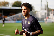 Cambridge Utd's Mitch Hancox (12) before the EFL Sky Bet League 2 match between Cambridge United and Milton Keynes Dons at the Cambs Glass Stadium, Cambridge, England on 13 October 2018.