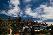 Ceres. Centre for Education and Research in Environmental Strategies, Melbourne. Solar panels and windmill.