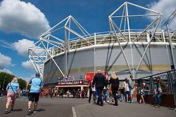 General view outside St Marys stadium. - Mandatory by-line: Alex James/JMP - 13/05/2018 - FOOTBALL - St Mary's Stadium - Southampton, England - Southampton v Manchester City - Premier League