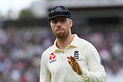 Jack Leach of England during the International Test Match 2019 match between England and Australia at Lord's Cricket Ground, St John's Wood, United Kingdom on 18 August 2019.