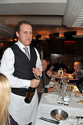 NIGEL LINDSAY at One Night Only at The Ivy held at The Ivy, 1-5 West Street, London on 2nd December 2012.