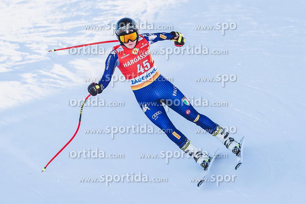 10.01.2020, Keelberloch Rennstrecke, Altenmark, AUT, FIS Weltcup Ski Alpin, Abfahrt, Damen, 2. Training, im Bild Laura Pirovano (ITA) // Laura Pirovano of Italy in action during her 2nd training run for the women's Downhill of FIS ski alpine world cup at the Keelberloch Rennstrecke in Altenmark, Austria on 2020/01/10. EXPA Pictures © 2020, PhotoCredit: EXPA/ Johann Groder