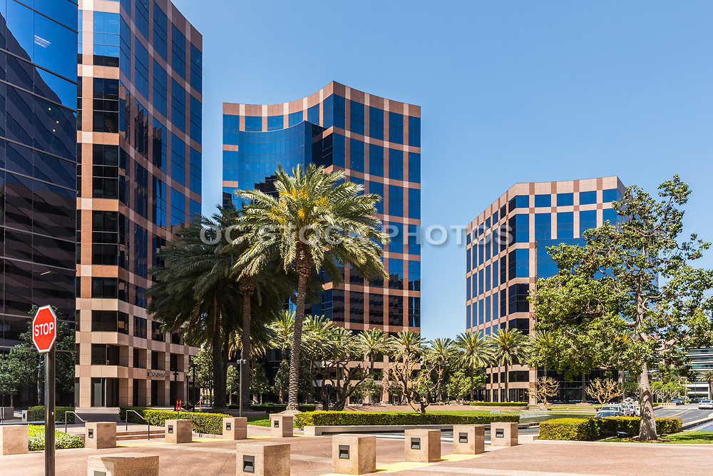 Business Buildings At Irvine Business Complex