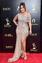Adrienne Bailon attends the 45th annual Daytime Emmy Awards at Pasadena Civic Auditorium on April 29, 2018 in Pasadena, California. Photo by Lionel Hahn/ABACAPRESS.COM