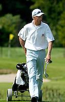 AMBT-DELDEN - finalist Robert Niemer  NK Matchplay golf op de Twentsche GC. COPYRIGHT KOEN SUYK