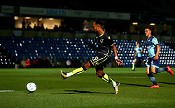 Byron Moore of Bristol Rovers shoots at goal - Mandatory by-line: Robbie Stephenson/JMP - 29/08/2017 - FOOTBALL - Adam's Park - High Wycombe, England - Wycombe Wanderers v Bristol Rovers - Checkatrade Trophy