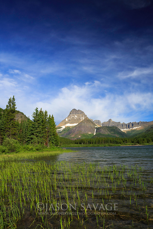 Swiftcurrent Lake, Glacier National Park, Montana
