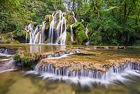 cascade des tufs, Arbois, Frankreich