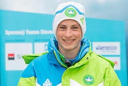 Jure Ozbolt during presentation of Team Slovenia for European Youth Olympic Festival - EYOF Brasov 2013 on February 13, 2013 in Bled, Slovenia. (Photo By Vid Ponikvar / Sportida)