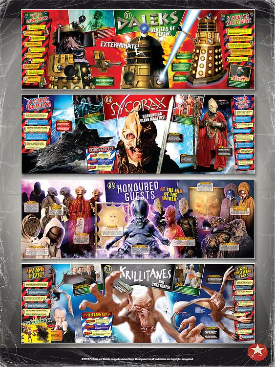 Doctor Who - Battles In Time<br /> Monster Gatefolds<br /> <br /> http://www.battlesintime.com