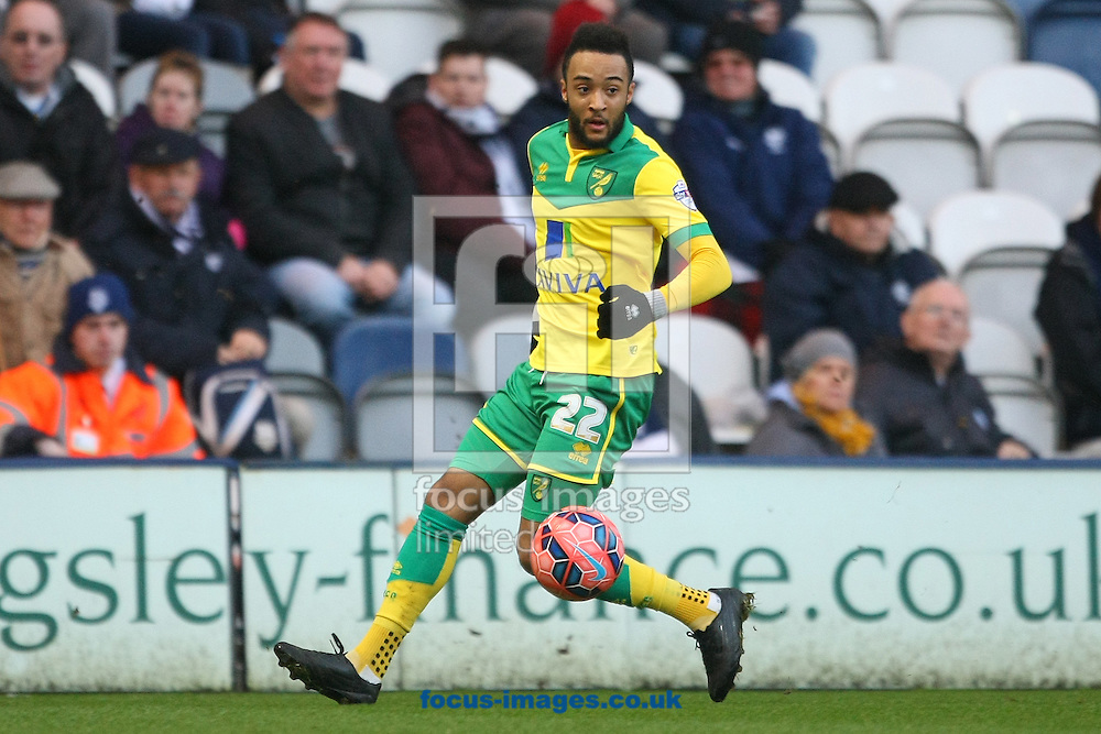 Nathan Redmond of Norwich in action during the FA Cup match at Deepdale, Preston<br /> Picture by Paul Chesterton/Focus Images Ltd +44 7904 640267<br /> 03/01/2015
