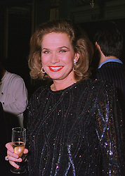 Actress VALERIE LEON at a dinner in London on 17th November 1997.<br /> MDI 7 WORO
