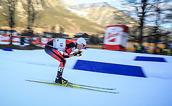 19.12.2015, Nordische Arena, Ramsau, AUT, FIS Weltcup Nordische Kombination, Langlauf, im Bild Fabian Steindl (AUT) // Fabian Steindl of Austria during Cross Country Competition of FIS Nordic Combined World Cup, at the Nordic Arena in Ramsau, Austria on 2015/12/19. EXPA Pictures © 2015, PhotoCredit: EXPA/ Martin Huber