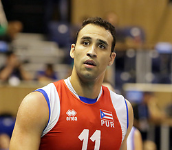 September 12, 2018 - Varna, Bulgaria - Maurice TORRES (Puerto Rico), .FIVB Volleyball Men's World Championship 2018, pool D, Iran vs Puerto Rico,. Palace of Culture and Sport, Varna/Bulgaria, .the teams of Finland, Cuba, Puerto Rico, Poland, Iran and co-host Bulgaria are playing in pool D in the preliminary round. (Credit Image: © Wolfgang Fehrmann/ZUMA Wire)