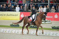 Häcki Caroline, (SUI), Rigoletto Royal CH<br /> Grand Prix Special<br /> CDIO Hagen 2015<br /> © Hippo Foto - Stefan Lafrentz