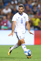 September 5, 2017 - Reggio Emilia, Italy - Itay Shechter of Israel during the FIFA World Cup 2018 qualification football match between Italy and Israel at Mapei Stadium in Reggio Emilia on September 5, 2017. (Credit Image: © Matteo Ciambelli/NurPhoto via ZUMA Press)