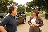 Al Franken campaigning in Minnesota Al Franken