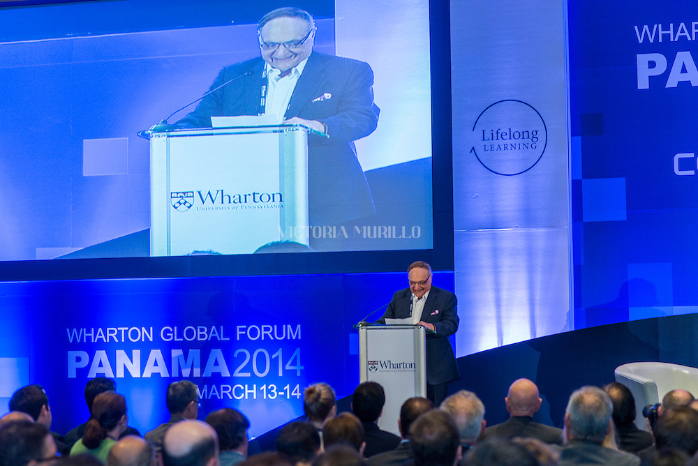 Wharton  Global Forum, Panama 2014, was held at the Trump Ocean Club International Hotel Panama.