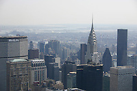 View of Chrysler building; New York