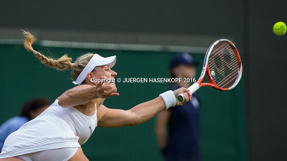 Angelique Kerber(GER)<br /> <br /> Tennis - Wimbledon 2016 - Grand Slam ITF / ATP / WTA -  AELTC - London -  - Great Britain  - 27 June 2016.
