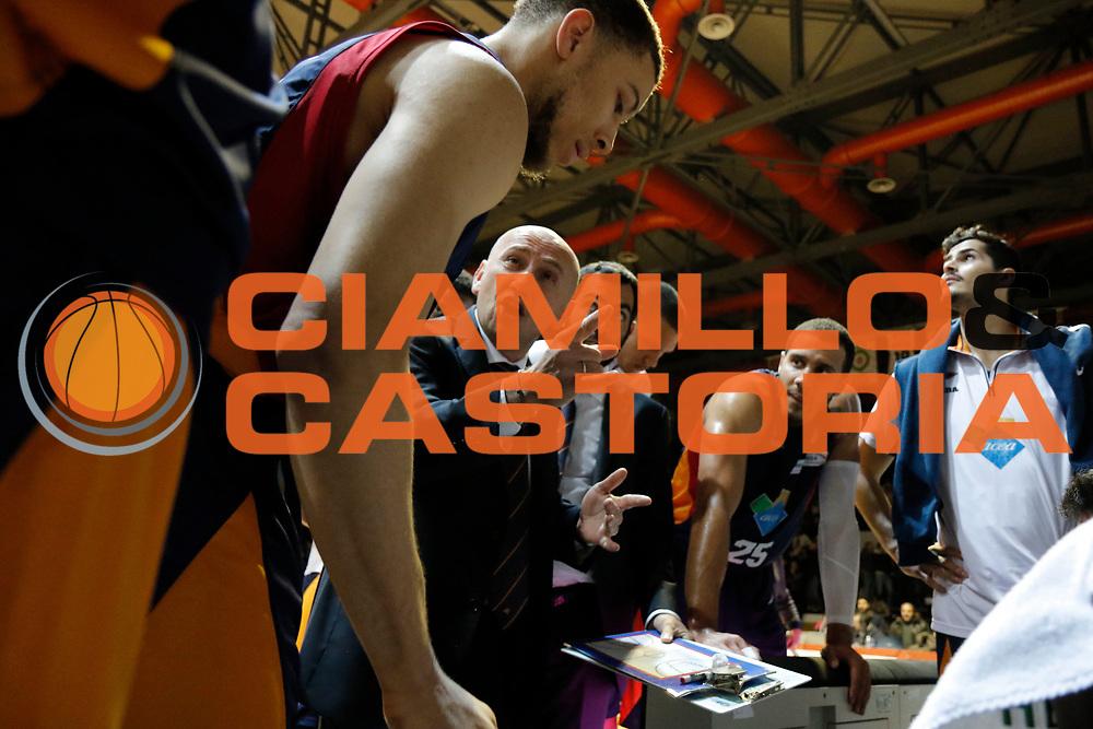 DDESCRIZIONE : Caserta Lega A 2014-15 Pasta Reggia Caserta Acea Virtus Roma<br /> GIOCATORE : Luca Dalmonte<br /> CATEGORIA : timeout<br /> SQUADRA : Acea Virtus Roma<br /> EVENTO : Campionato Lega A 2014-2015<br /> GARA : Pasta Reggia Caserta Acea Virtus Roma<br /> DATA : 25/01/2015<br /> SPORT : Pallacanestro <br /> AUTORE : Agenzia Ciamillo-Castoria/A. De Lise<br /> Galleria : Lega Basket A 2014-2015 <br /> Fotonotizia : Caserta Lega A 2014-15 Pasta Reggia Caserta Acea Virtus Roma