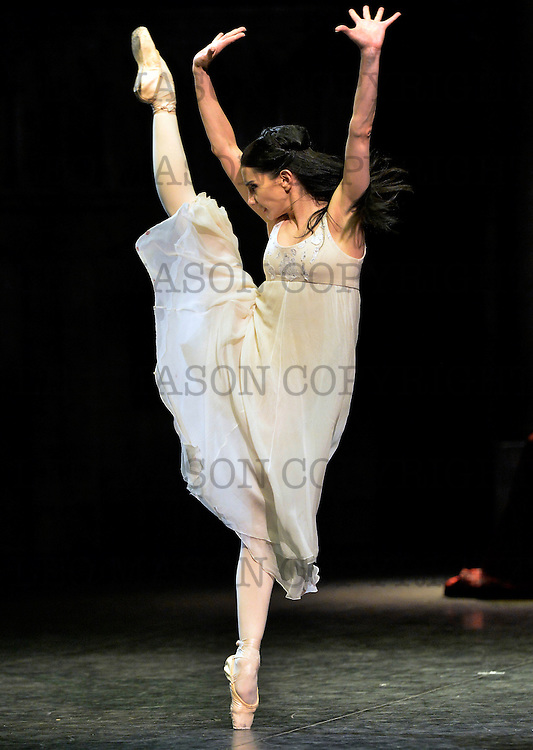 10.06.2014 English National Ballet Company Romeo &amp; Juliet at The Royal Albert Hall London UK<br /> Juliet Tamara Rojo