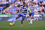 Reading's Danny Williams on the attack during the Sky Bet Championship match between Reading and Brighton and Hove Albion at the Madejski Stadium, Reading, England on 31 October 2015. Photo by Mark Davies.