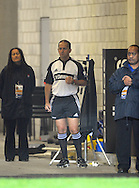 Referee Jonathan Kaplan. Super 15 rugby match - Hurricanes v Blues at Westpac Stadium, Wellington, New Zealand on Friday, 30 April 2011. Photo: Dave Lintott / photosport.co.nz
