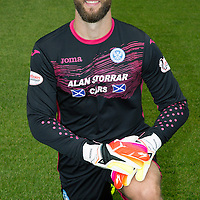 St Johnstone FC photocall Season 2016-17<br />Alan Mannus<br />Picture by Graeme Hart.<br />Copyright Perthshire Picture Agency<br />Tel: 01738 623350  Mobile: 07990 594431