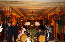 THE DORCHESTER at a party to celebrate the opening of The Bar at The Dorchester, Park Lane, London on 27th June 2006.<br />