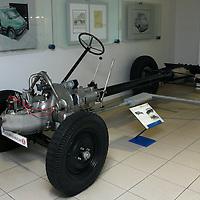 1929-38 Tatra 43/52 Chassis, Technical Museum Tatra Czech Republic, 2009