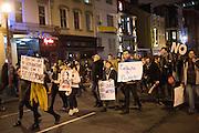 DEMONSTRATORS, Inauguration of Donald Trump and demonstrators and various entrances,  Washington DC. 20  January 2017