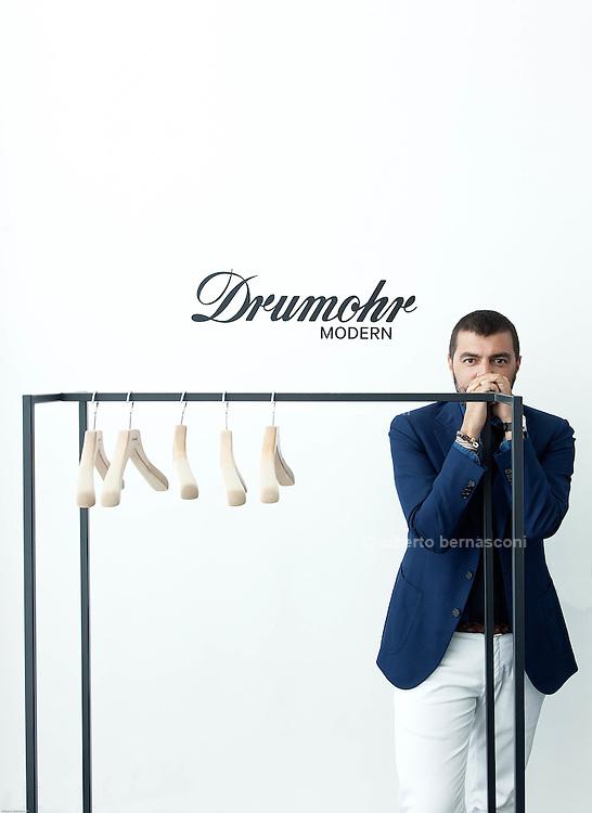 Milan, DRUMOHR showroom, Michele Ciocca AD DRUMOHR