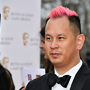 Ken Wong Arrivers at the British Academy (BAFTA) Games Awards at Queen Elizabeth Hall, Southbank Centre  on 4 March 2019, London, UK.