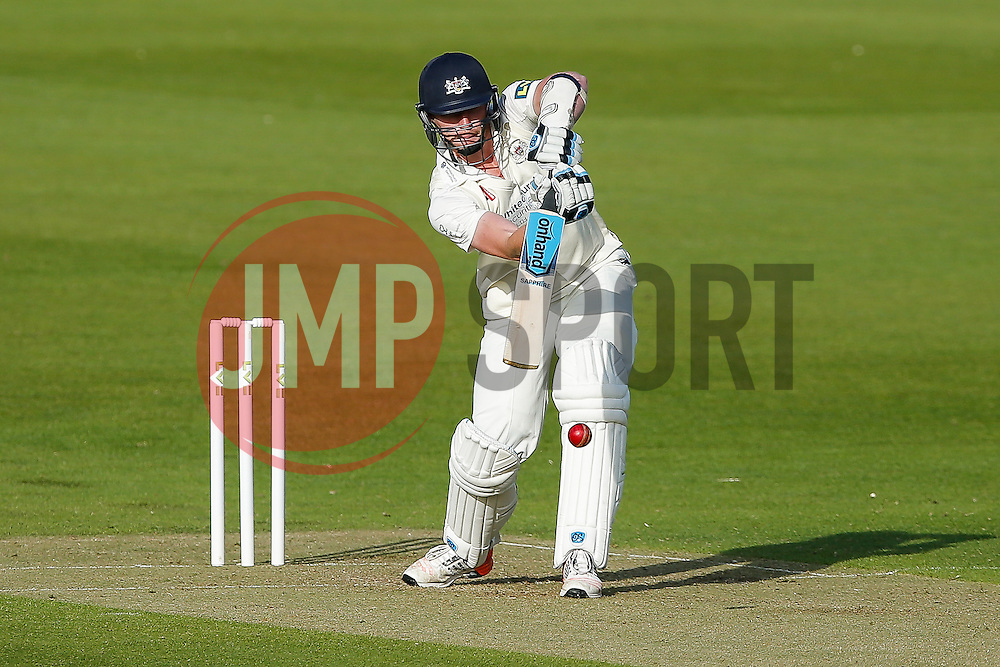 Liam Norwell of Gloucestershire - Photo mandatory by-line: Rogan Thomson/JMP - 07966 386802 - 18/05/2015 - SPORT - CRICKET - Bristol, England - Bristol County Ground - Gloucestershire v Kent - Day 1 - LV= County Championship Division Two.