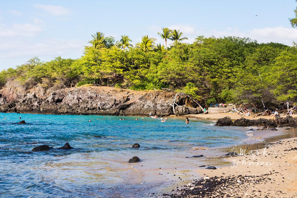 Hapuna Beach State Park, Waialea Bay, Big Island (Hawaii Island), Hawaii