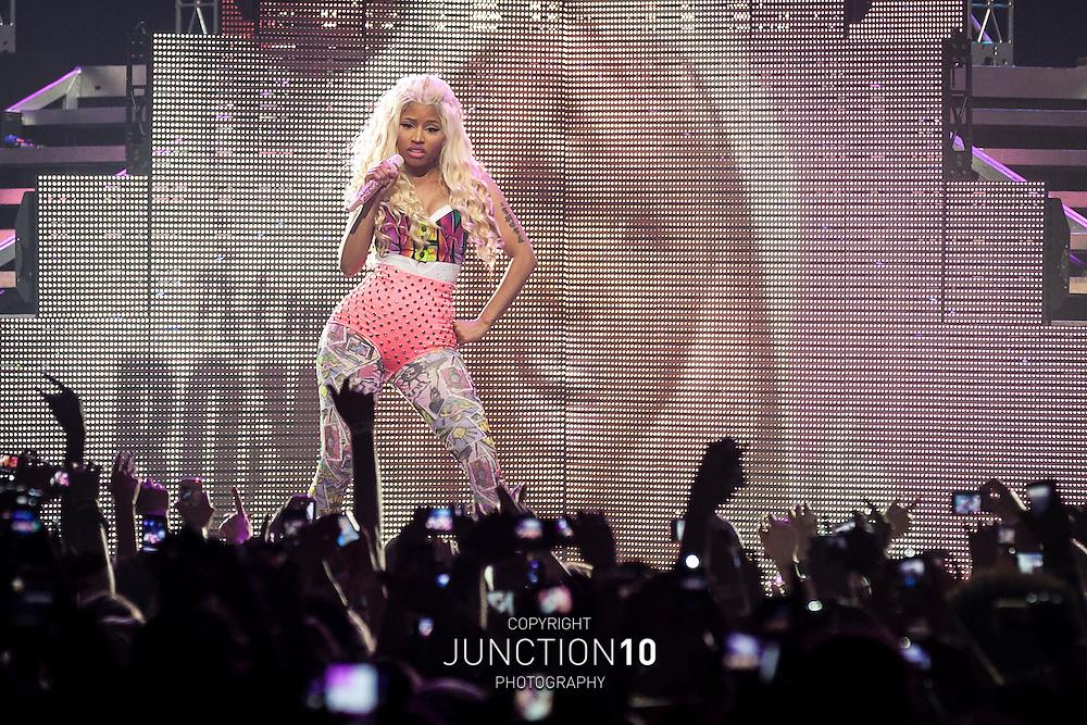 Nicki Minaj performs at the NIA, Birmingham, United Kingdom.Picture Date: 26 June, 2012