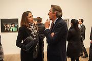 MARIA DE MADARIAGA; BRYAN FERRY, Richard Hamilton opening, Tate Modern. London. 11 February 2014