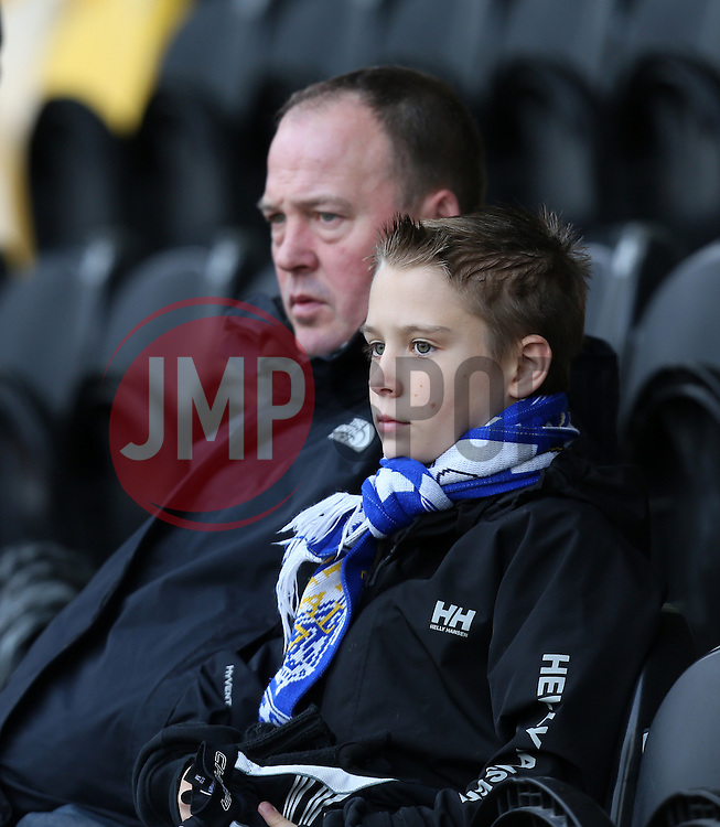 Bristol Rovers fans- Photo mandatory by-line: Matt Bunn/JMP - Tel: Mobile: 07966 386802 23/11/2013 - SPORT - Football - Burton - Pirelli Stadium - Burton Albion v Bristol Rovers - Sky Bet League Two