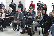 BARI 12.04.2010<br /> PIAZZA FERRARESE-SALA MURAT<br /> CONFERENZA STAMPA DI PRESENTAZIONE DEGLI INCONTRI<br /> DI QUALIFICAZIONE AI CAMPIONATI EUROPEI 2011<br /> NELLA FOTO GLI SPETTATORI