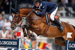Lindelow Douglas, SWE, Zacramento<br /> FEI Nations Cup - CHIO Rotterdam 2017<br /> © Hippo Foto - Dirk Caremans<br /> Lindelow Douglas, SWE, Zacramento
