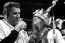 A crowd expected close to 20.000 see how Molly Schuyler reclaims the Wing Bowl XXIV as a record 30 competitive eaters participate in the Wing Bowl XXIV: 'Game of Bones' at Wells Fargo Center in Philadelphia, PA.