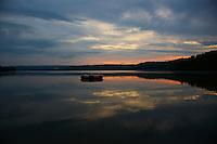 Sunset on Carson Lake