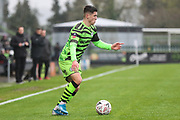 Forest Green Rovers Jack Aitchison(29), on loan from Celtic during the The FA Cup match between Forest Green Rovers and Billericay Town at the New Lawn, Forest Green, United Kingdom on 9 November 2019.