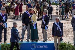Team USA, Fairclough James, Wrigley-Miller Misdee, Weber Chester<br /> World Equestrian Games - Tryon 2018<br /> © Hippo Foto - Dirk Caremans<br /> 23/09/2018