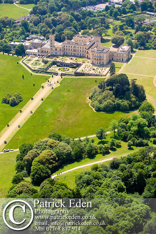 Aerial, Osborne House, East Cowes, Isle of Wight, England Photographs of the Isle of Wight by photographer Patrick Eden photography photograph canvas canvases