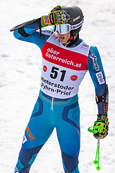 02.03.2020, Hannes Trinkl Weltcupstrecke, Hinterstoder, AUT, FIS Weltcup Ski Alpin, Riesenslalom, Herren, 2. Lauf, im Bild Marcus Monsen (NOR) // Marcus Monsen of Norway reacts after his 2nd run of men's Giant Slalom of FIS ski alpine world cup at the Hannes Trinkl Weltcupstrecke in Hinterstoder, Austria on 2020/03/02. EXPA Pictures © 2020, PhotoCredit: EXPA/ Johann Groder