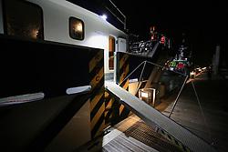 UK ENGLAND NORFOLK SHERINGHAM SHOAL 25SEP13 - Tidal Transit vessel Tia Elizabeth moored at Wells-next-the-Sea on the Norfolk coast, England.<br /> <br /> <br /> <br /> jre/Photo by Jiri Rezac<br /> <br /> <br /> <br /> © Jiri Rezac 2013