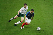 Declan Rice (IRL), Nabil FEKIR (FRA) during the FIFA Friendly Game football match between France and Republic of Ireland on May 28, 2018 at Stade de France in Saint-Denis near Paris, France - Photo Stephane Allaman / ProSportsImages / DPPI